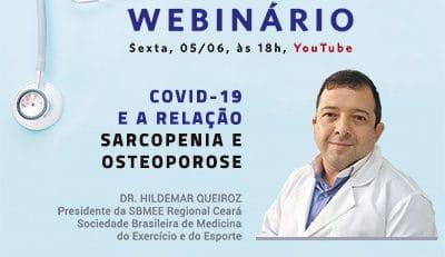 Webinário sarcopenia, osteoporose e COVID-19